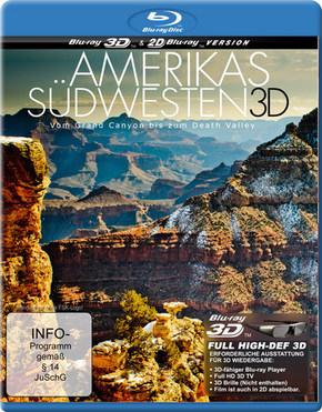 Amerikas Südwesten 3D, 1 Blu-ray