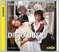 Die Räuber, 1 Audio-CD
