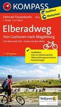 Kompass Fahrrad-Tourenkarte Elberadweg - Tl.2