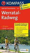 Kompass Fahrrad-Tourenkarte Werratal-Radweg