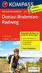 Kompass Fahrrad-Tourenkarte Donau-Bodensee-Radweg