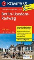 Kompass Fahrrad-Tourenkarte Berlin-Usedom Radweg