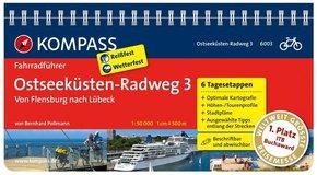 Kompass Fahrradführer Ostseeküsten-Radweg - Bd.3