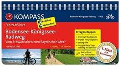 KOMPASS Fahrradführer Bodensee-Königssee-Radweg - Vom Schwäbischen zum Bayerischen Meer