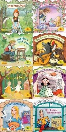 Pixi Bücher: Märchenstunde mit Pixi, 8 Hefte; Serie.217