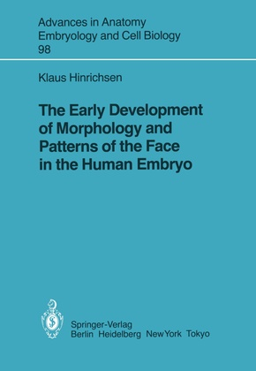 The Early Development of Morphology and Patterns of the Face in the Human Embryo