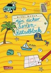 Mein dicker Ferien Rätselblock - Bd.1