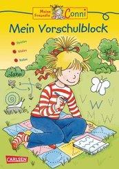 Conni Gelbe Reihe (Beschäftigungsbuch): Mein Vorschulblock