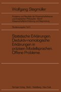 Probleme und Resultate der Wissenschaftstheorie und Analytischen Philosophie: Wissenschaftliche Erklärung und Begründung; Bd.1/5