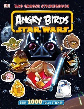 Angry Birds TM Star Wars™ TM Das große Stickerbuch