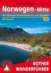 Rother Wanderführer Norwegen Mitte