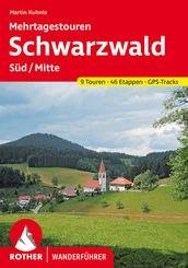Rother Wanderführer Schwarzwald Süd/Mitte - Mehrtagestouren