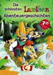 Die schönsten Leselöwen-Abenteuergeschichten, m. Audio-CD
