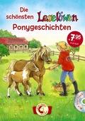 Die schönsten Leselöwen-Ponygeschichten, m. Audio-CD