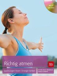 Richtig atmen, m. 1 Audio-CD
