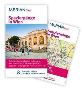 Merian live! Spaziergänge in Wien - Reiseführer