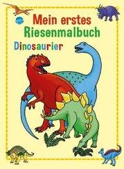 Mein erstes Riesenmalbuch, Dinosaurier