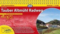 ADFC-Radreiseführer Tauber Altmühl Radweg
