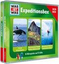 Expeditionsbox, 3 Audio-CDs - Was ist was Hörspiele