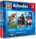 Actionbox, 3 Audio-CDs - Was ist was Hörspiele