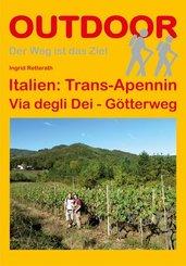 Italien: Trans-Apennin Via degli Dei - Götterweg