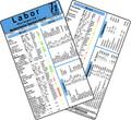 Labor - Normwerte, Medizinische Taschen-Karte
