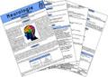 Neurologie, Medizinische Taschen-Karte