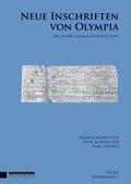 Neue Inschriften von Olympia