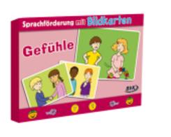"""Sprachförderung mit Bildkarten """"Gefühle"""""""