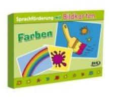 """Sprachförderung mit Bildkarten """"Farben"""""""