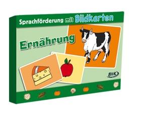 """Sprachförderung mit Bildkarten """"Ernährung"""""""