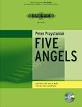 Five Angels, für Klarinette und Klavier, m. Audio-CD