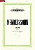 Elias op.70, Klavierauszug