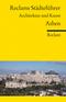 Reclams Städteführer Athen