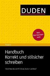 Handbuch Korrekt und stilsicher schreiben