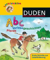 Abc-Vorlesegeschichten - Pferde