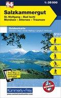 Kümmerly+Frey Outdoorkarte Österreich - Salzkammergut