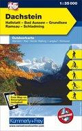 Kümmerly+Frey Outdoorkarte Österreich - Dachstein