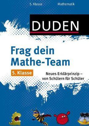 Frag dein Mathe-Team 5. Klasse