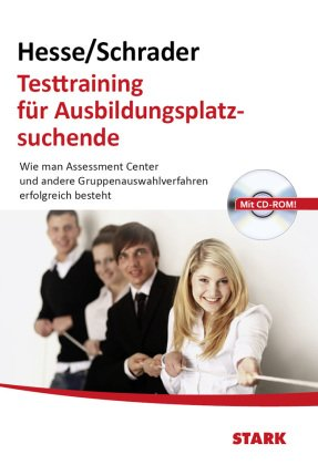 Testtraining für Ausbildungsplatzsuchende, m. 1 CD-ROM