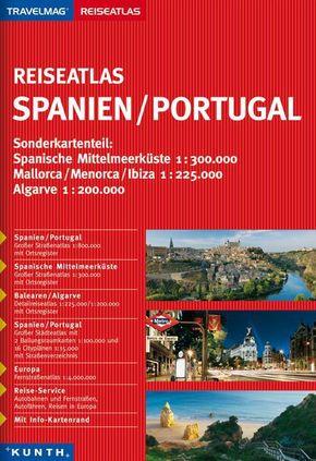 KUNTH Reiseatlas Spanien, Po..