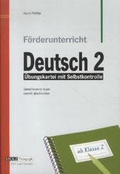 Förderunterricht Deutsch: 2. Schuljahr