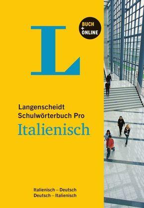Langenscheidt Schulwörterbuch Pro - Italienisch