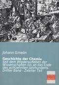 Geschichte der Chemie - Bd.3/2