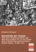Geschichte der Chemie - Bd.3/1