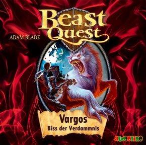 Beast Quest - Vargos, Biss der Verdammnis, 1 Audio-CD