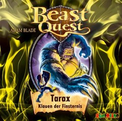 Beast Quest - Tarax, Klauen der Finsternis, Audio-CD
