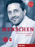 Menschen - Deutsch als Fremdsprache: Arbeitsbuch, m. Audio-CD; .A2/1