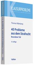 40 Probleme aus dem Strafrecht, Besonderer Teil