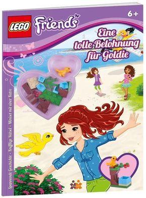 LEGO Friends. Eine tolle Belohnung für Goldie, mit Lego-Set